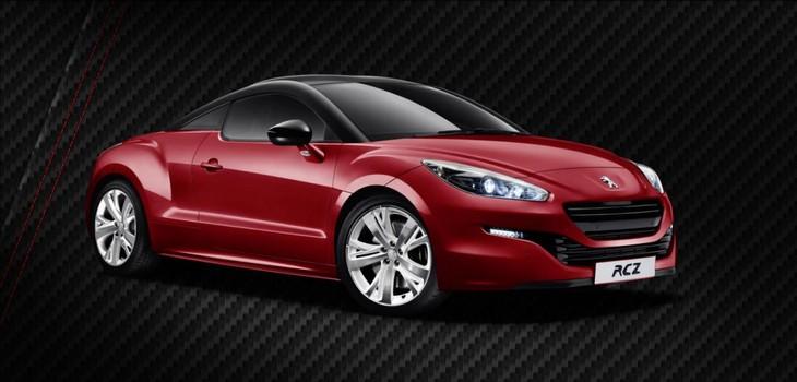 Peugeot RCZ Red Carbon Edition