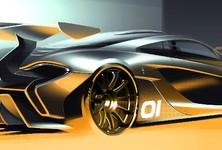 McLaren P1 GTR Design Concpet