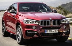 2015 BMW X6 Front View