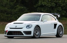 Volkswagen Beetle GRC RallyCross Front And Side View