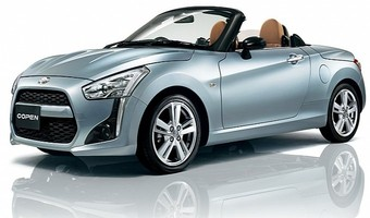 Daihatsu Copen Front And Side View