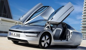 Volkswagen XL1 2014 1024x768 Wallpaper 04