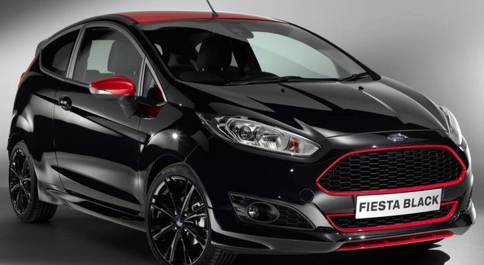 Ford Fiesta Red And Black Editions 3