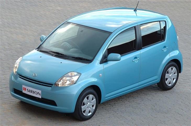 daihatsu sirion 1,3 sport automatic (2005) driving impression cars