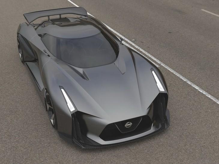 Nissan 2020 Vision Gran Turismo Concept 2014 800x600 Wallpaper 01
