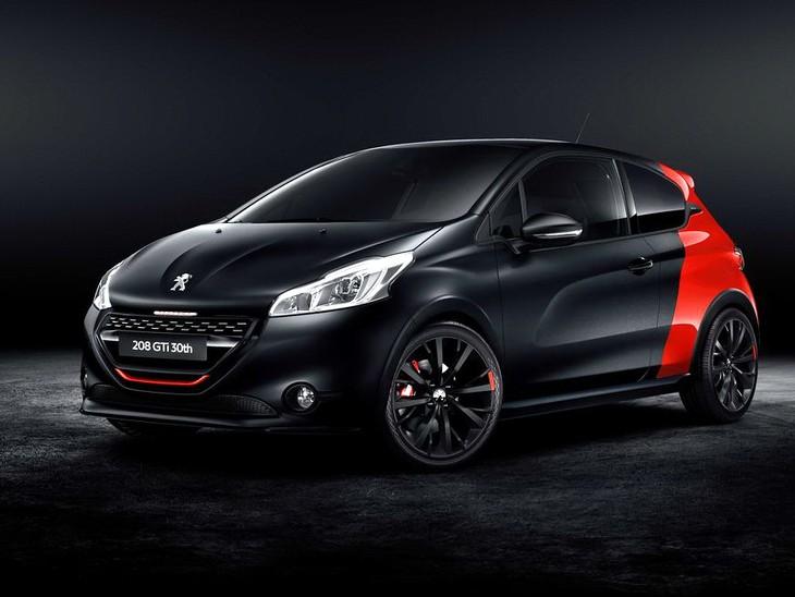 peugeot 208 gti 30th anniversary announced - cars.co.za