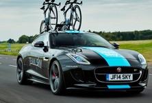 Jaguar F Type R Coupe Front View
