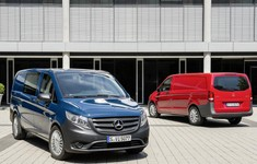 2014 Mercedes Benz Vito Front And Rear