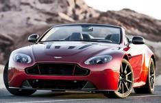 Aston Martin V12 Vantage S Roadster Front View
