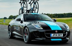 Jaguar F Type R Coupe Front View