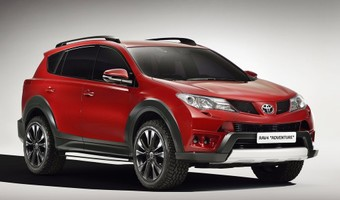 Toyota RAV4 Adventure Concept 2013 1024x768 Wallpaper 01