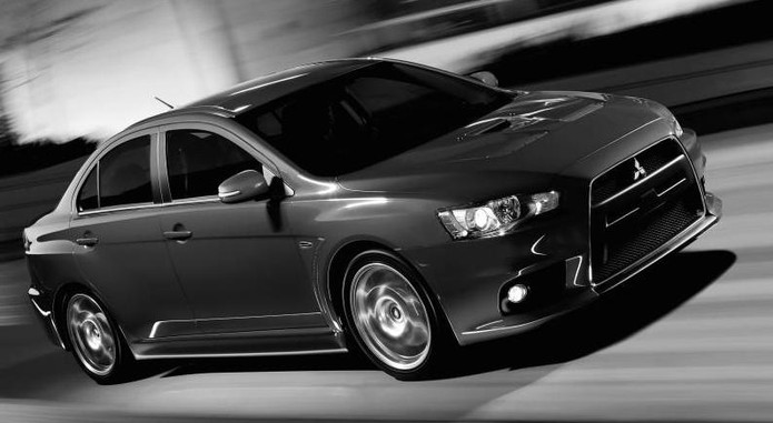 2015 Mitsubishi Lancer Evolution Front View