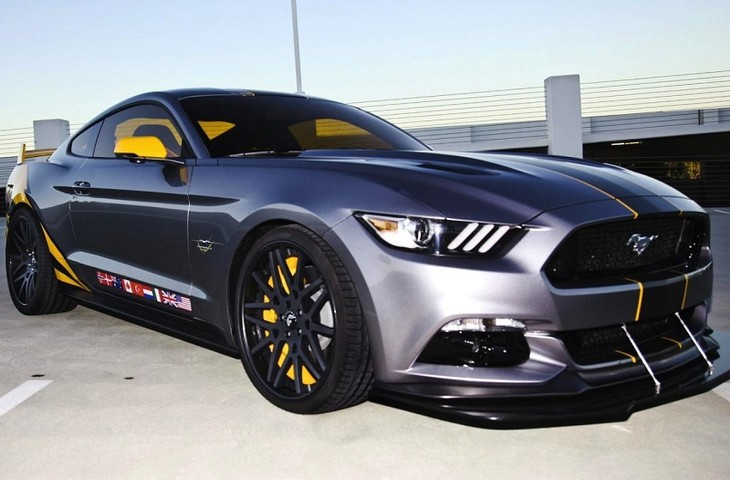2015 Ford Mustang Gt F 35 Lightning Ii Edition Unveiled