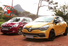 Clio RS Vs 208 GTi Vid1