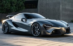 Toyota FT 1 Sports Car Front