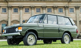 First Ever Range Rover Side