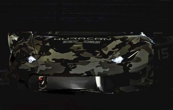 Lamborghini Huracan Super Trofeo Race Car
