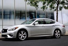 Infiniti Q70 Front And Side
