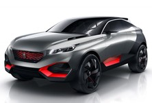 Peugeot Quartz Concept Front And Side Angle