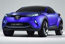Toyota C HR Concept Front Angle