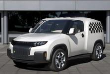 Toyota U2 Concept Front