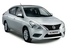 Updated Nissan Almera Front And Side