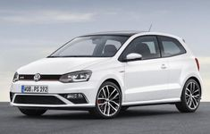 Facelifted Volkswagen Polo GTI Front And Side Angle