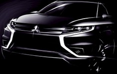 Mitsubishi Outlander PHEV Concept S Front