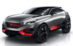 Peugeot Quartz Concept Front And Side Angle