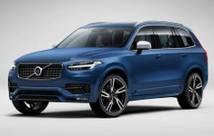 Volvo XC90 R Design Front And Side Angle