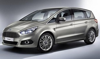 2015 Ford S MAX Side And Front Angle