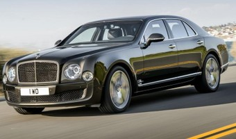 Bentley Mulsanne Speed Front