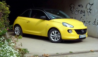 Opel Adam At Hockenheim3