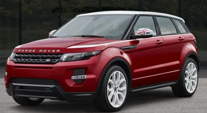 Range Rover Evoque SW1 Special Edition Front And Side
