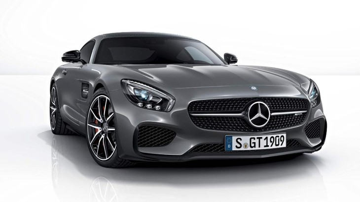 Mercedes Benz AMG GT Edition 1 Front