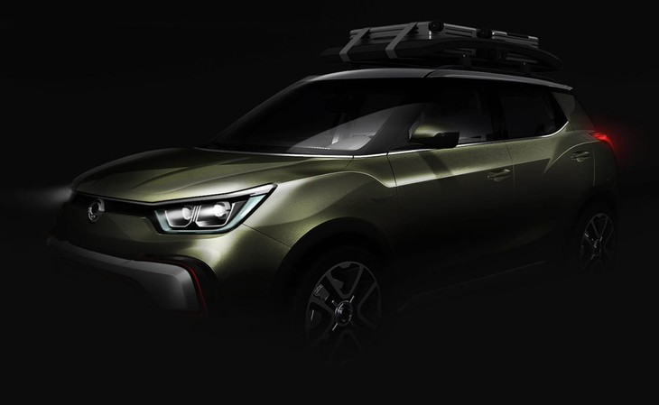 SsangYong XIV Adventure Concept Teaser Front And Side