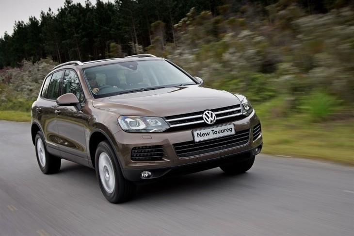 VW Touareg 3,0 V6 TDI BlueMotion (2010) Driving Impression