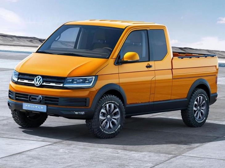 Volkswagen Tristar Concept Front And Side Angle