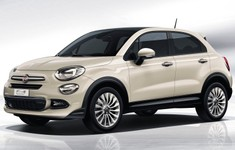 Fiat 500X Opening Edition Art Grey Front Angle Custom