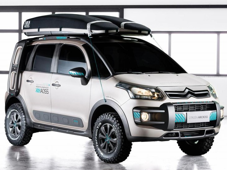 AirCross Lunar Concept Front