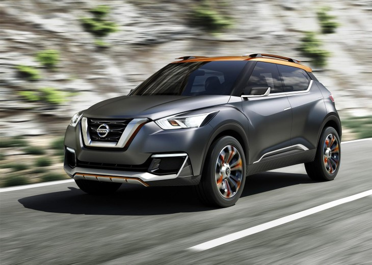 nissan kicks concept for urban brazil cars co zaNissan Car Concept Kicks #12