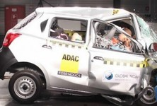 Datsun Go Receives Zero Star Crash Test Rating