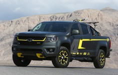 2015 Chevrolet Colorado Performance Concept Front And Side Custom