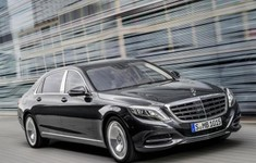 Mercedes Maybach S Class Front Side
