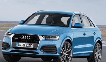 2015 Audi Q3 Facelift Front And Side Angle