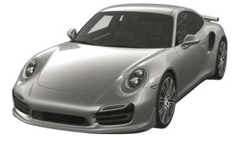 2015 Porsche 911 Turbo Front