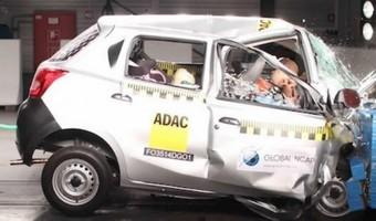 Datsun Go Receives Zero Star Crash Test Rating