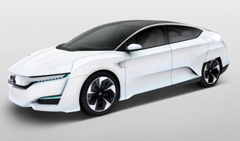 Honda FCV Concept Front And Side Angle