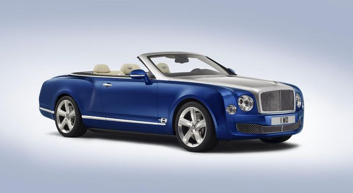 Bentley Grand Convertible Concept Front