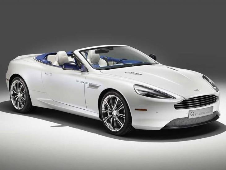 Aston Martin Db9 Volante Morning Frost Unveiled Cars Co Za